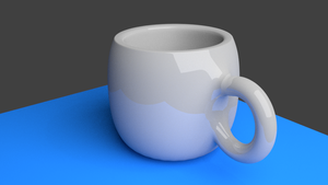 Cup [3D] by pitbullie