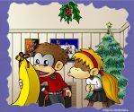 Kongs Under The Mistletoe Part 2: Banana Love by kjsteroids