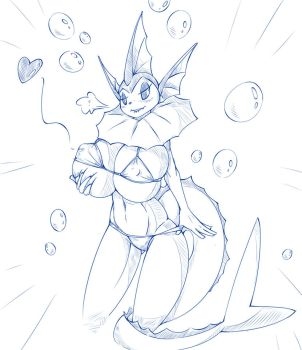 [Request] Adria, The Vaporeon by Wouhlven