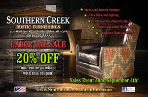 Southern Creek Labor Day 2013 FRONT by tbtyler