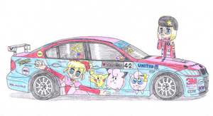 Tara's race car by macaustar