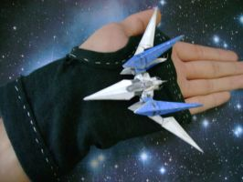 Arwing Scale Model by archus7