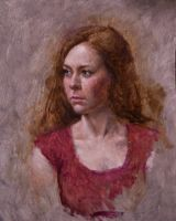 Rachelle from LIfe second sitting 11x14 by BClary