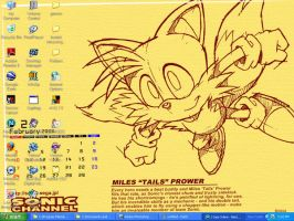 February Tails Desktop by BabylonRogues101