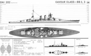 Technical Drawings: RM Cavour by bwan69