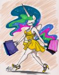 Celestia's Shopping Day by newyorkx3