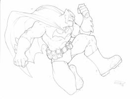jumpin' Batman by DenisM79