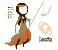 Judge of Locks by Kakity