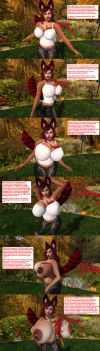 From Phoenix to PhoenyXXX Breast Expansion BE by Mistress--Phoenix