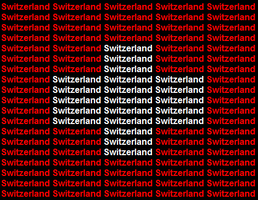 Switzerland name flag by ABtheButterfly
