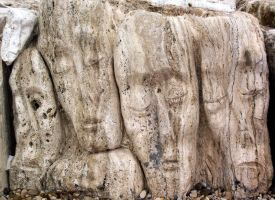Marble with Faces by Ivette-Stock