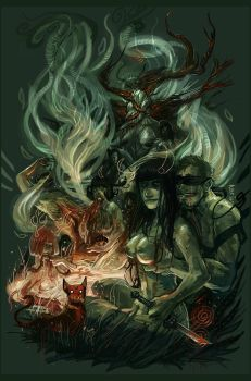 Witches and boys by Fealasy