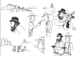 Bud Spencer and Terence Hill by marcobrunez