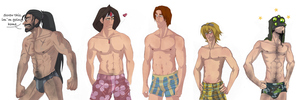 LoL Swimsuit STUDS by RainbowSnow
