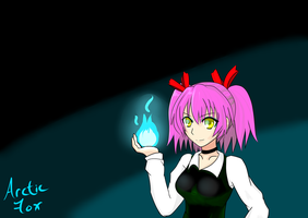 Ice Fire Witch. by ArcticFox223