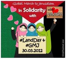 Global March to Jerusalem by littleMuslimah