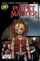 Puppet master issue #8 main cover colored by Dany-Morales