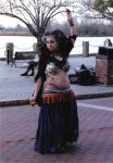 Belly Dancer by sardonicophelia
