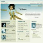 website layout 32 by tehacesequence