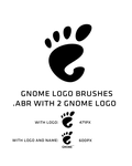 GNOME logo brush by deviantdark