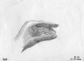 Hand by Crisstyana