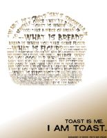 Typography Poster - Toast by VeetVoojagig