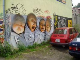 Babies in Poland by Konf