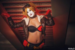 DC Collectibles Comics: Bombshells Harley Quinn by St3phBot