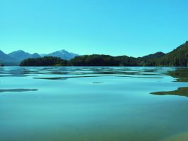 Argentina- steady lake by vincent99