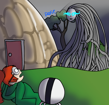 Infinity Train Screenshot Redraw by Rosedoesmc