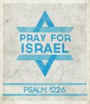 Pray for Israel by Blugi