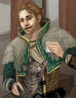 Anders- dragon age 2 by amiima