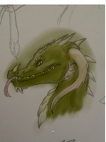 Grass Dragon by ForrestFoxes