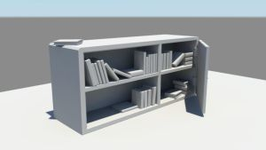 Bookcase by ColmLavery