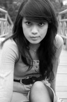Black and White of Feby by alannadudidamss
