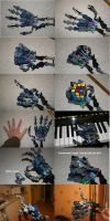 Bionicle MOC: Hand by Rahiden