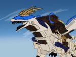 Zoids Gil Dragon Finial by Madiba127