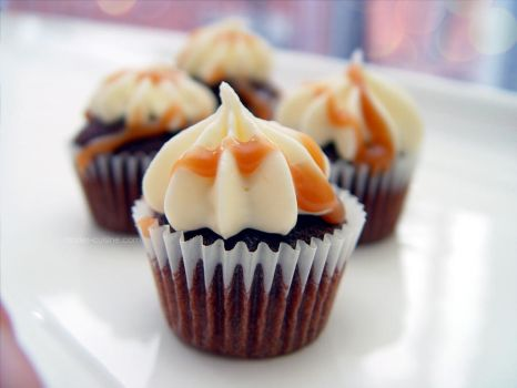 Mini Guinness Cupcakes by maytel