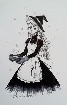 .day27: baker witch by mimiclothing