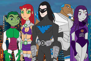Adult Teen Titans by Daizua123