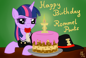 Happy Birthday Rommel Pants by Salahir