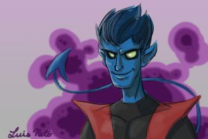 Nightcrawler Quickie by Spidersaiyan
