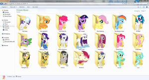 Pony Icon Pack 3 by Blues27Xx