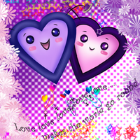 Hearts XD Purple by Abyss-Valkyrie