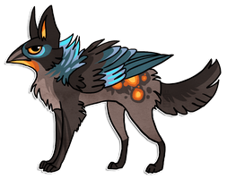 GryphWolf SOLD by griffsnuff