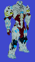 Grizzly powered armor by Haloidfan