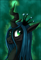 MLP - Changeling Queen by AccursedAsche