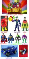 dc super friends two line figure wishlist by NickMaster64