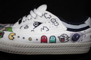 GamingShoes Pacman by camriess