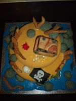Pirate Island Cake 12 by BevisMusson